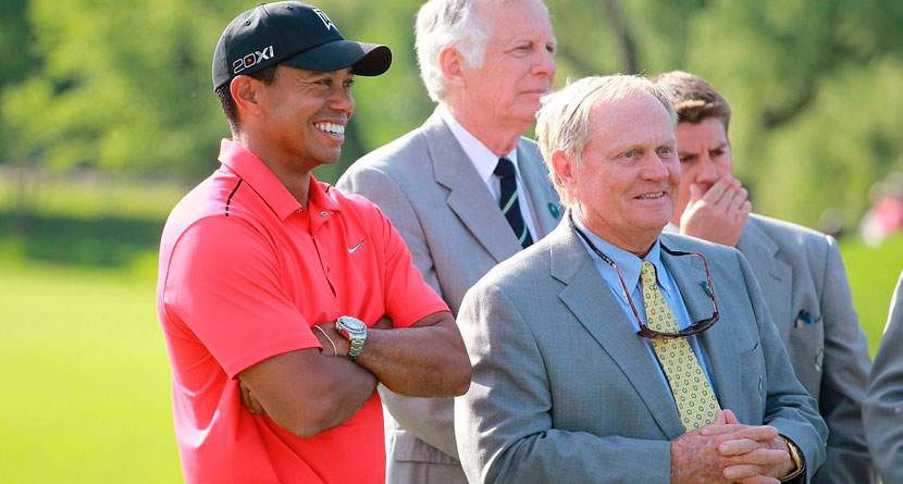 "Nicklaus ""Not Interested at All"" in Tiger's Comeback"