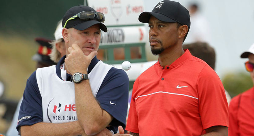Caddie Shares Story of Tiger's Competitiveness