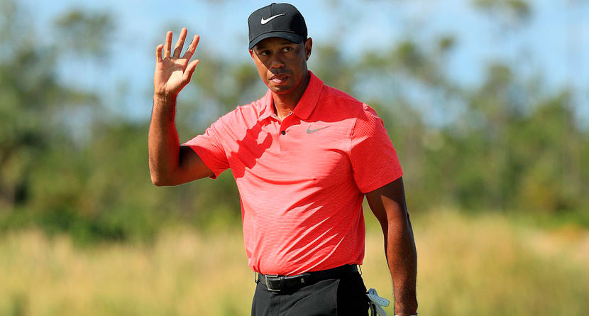 Private Lesson With Tiger Woods Goes For $210,000