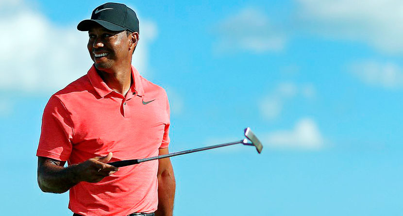 Tiger Woods Gives Update in Year-End Blog Post