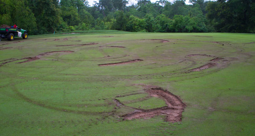 County Offers $1,000 Reward To Stop Course Vandals