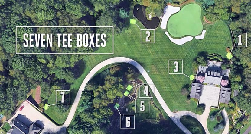 Billionaire Builds Golfer's Paradise in Backyard
