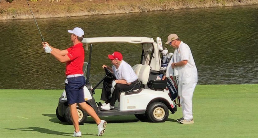 """DeChambeau's Round With Trump """"Truly An Honor"""""""