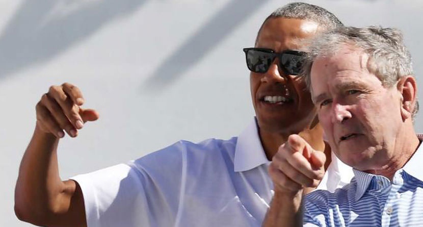 George W. Bush, Barack Obama Join The Floridian