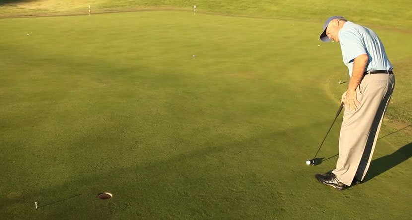 Look Past The Hole to Make More Uphill Putts