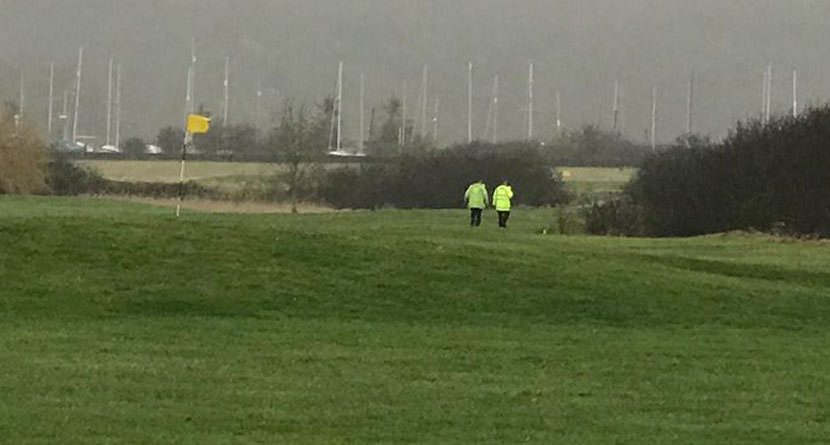 Police Chase Ends on British Golf Course