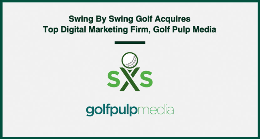Swing By Swing Acquires Golf Pulp Media