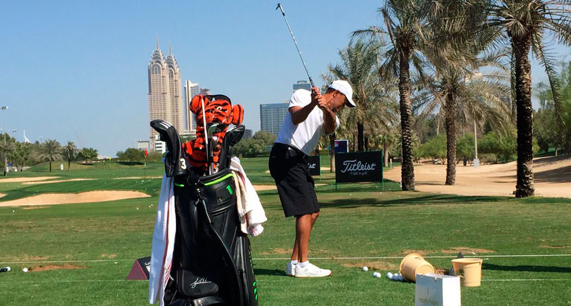 Tiger's New Range Routine Starts With Driver