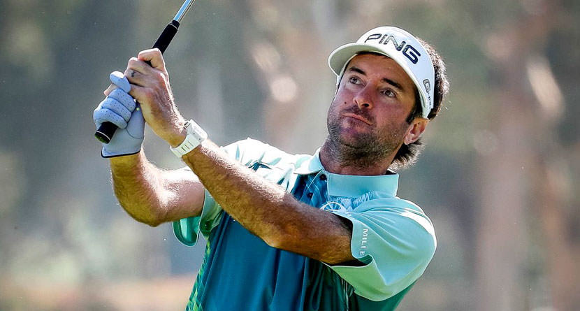 Bubba's Bunker Hole Out Seals the Deal at Riviera