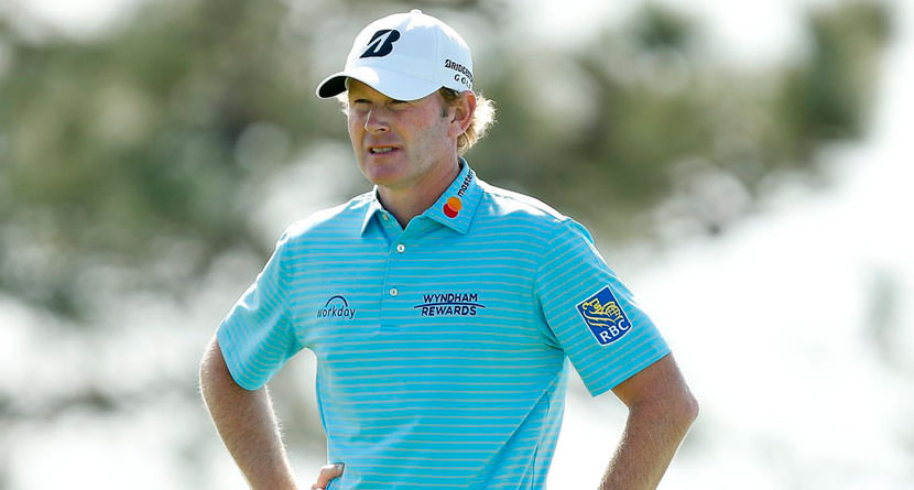 Snedeker Gets Waterlogged, Makes Triple Bogey