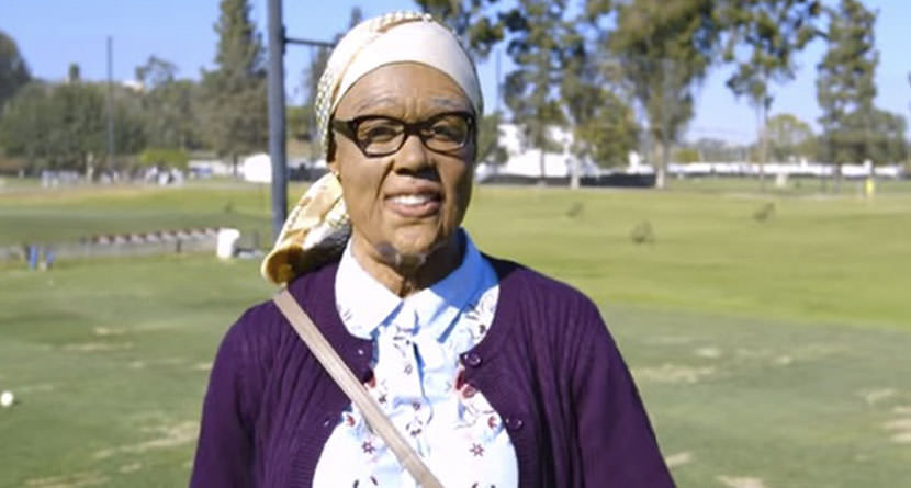 'Grandma Gladys' Smokes 300-Yard Drives