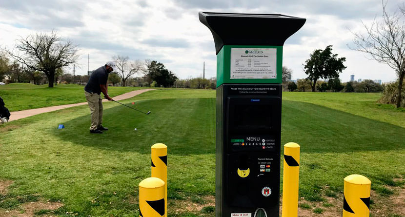 Hancock Golf Course Implements Honor System Pay Stations for Greens Fees