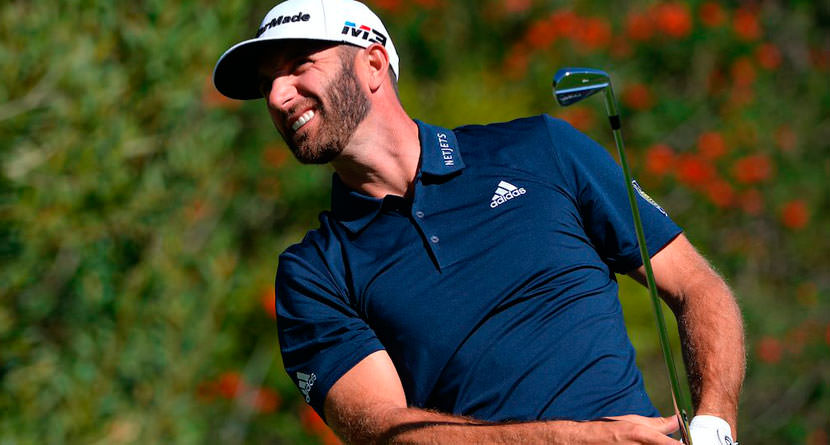Dustin Johnson's 'Record-Breaking' Drive