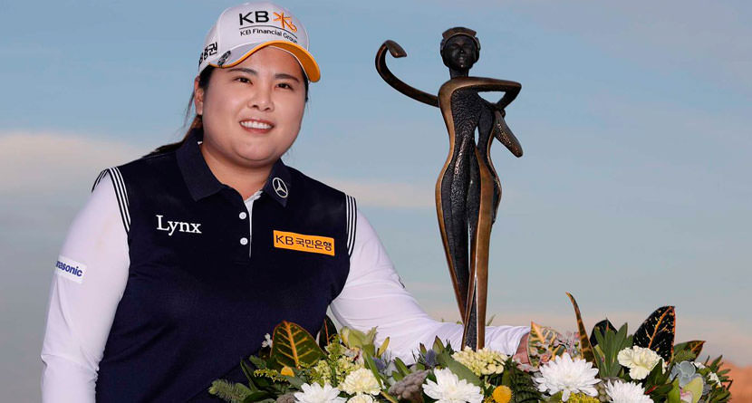 Inbee Park Cruises to Five-Shot Win at Bank of Hope Founders Cup