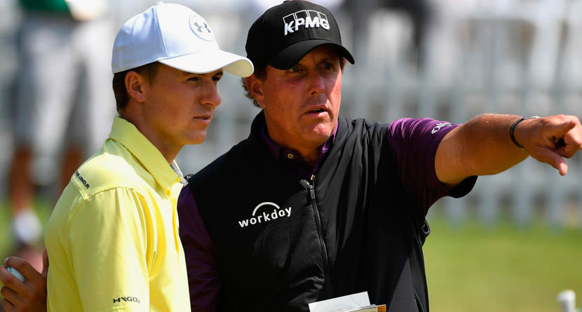 Mickelson Once Blew Off a Young Spieth Looking For an Autograph