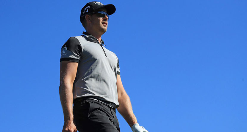 Henrik Stenson Needs 20 Putts To Shoot 8-Under Par, Lead After 18 Holes