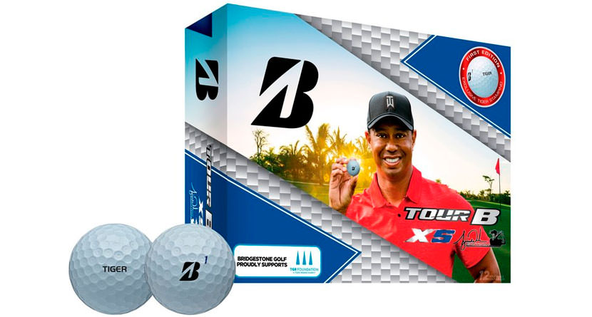 Tiger Woods Golf Ball Released