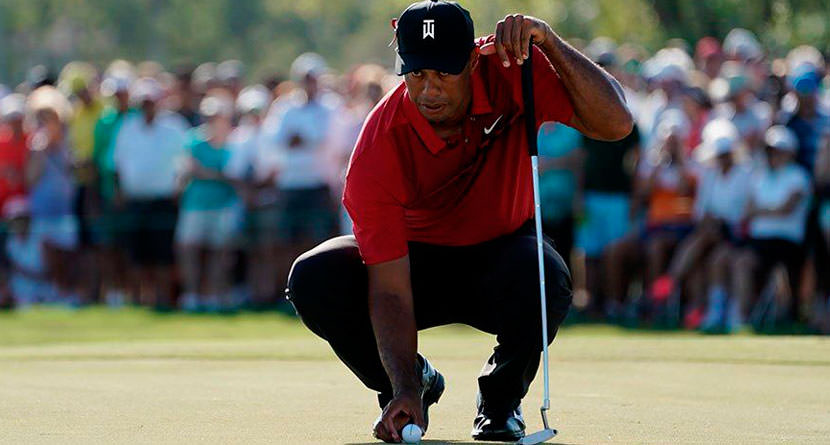 Tiger's Good Play Raising Masters Ticket Prices