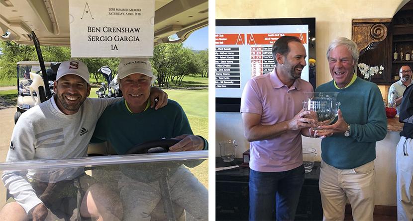 Sergio, Ben Crenshaw Dominate Member-Member