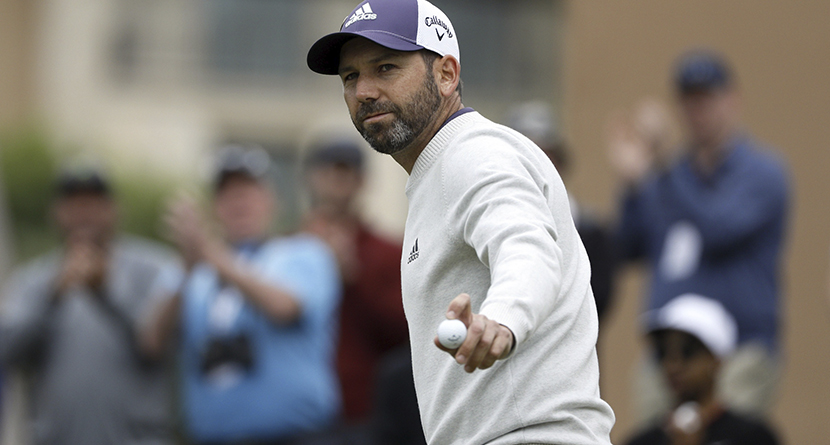 Sergio Takes Out Frustration On His Driver