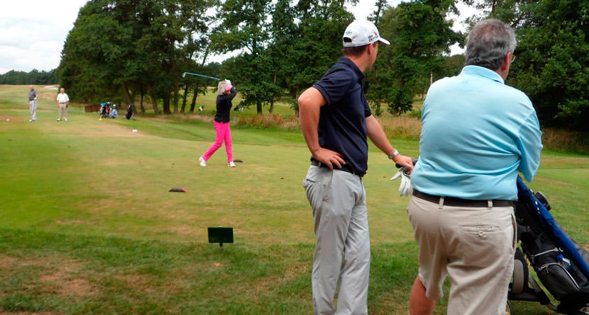 Are Amateurs Hitting The Ball Shorter?