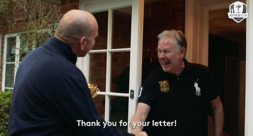Thomas Bjorn Surprises Hilarious Letter-Writing Ryder Cup Fan