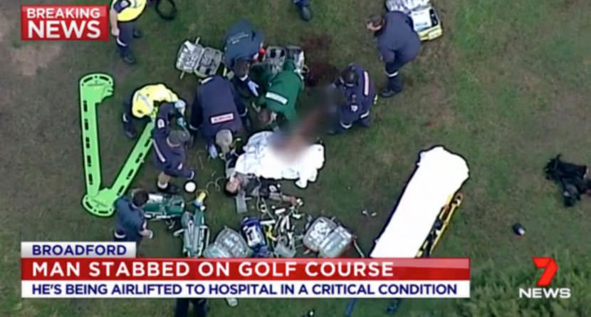 Jail Time For Man In Stabbing Over Golf Course Etiquette