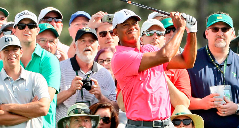 Tiger Woods Shares His Secrets To Playing Amen Corner
