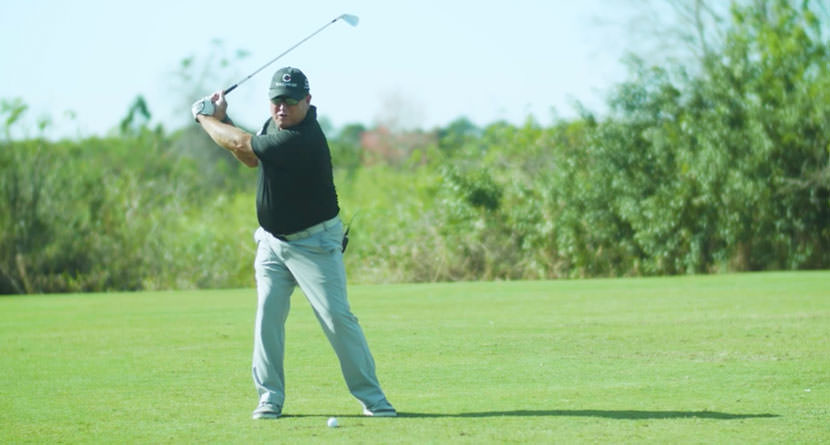 The Swing, Step 3: The Proper Position At The Top Of The Backswing