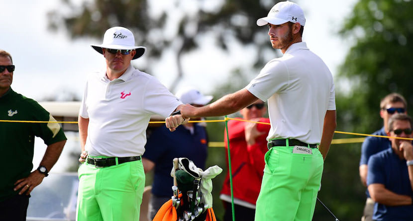 Chris DiMarco's Son's U.S. Open Fate Decided By Coin Flip