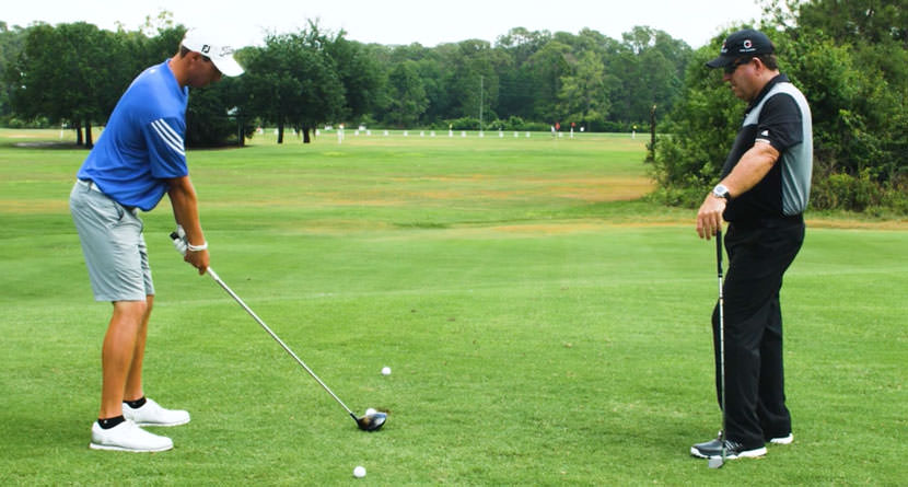 Hit A Power Fade With The 3-Ball Drill