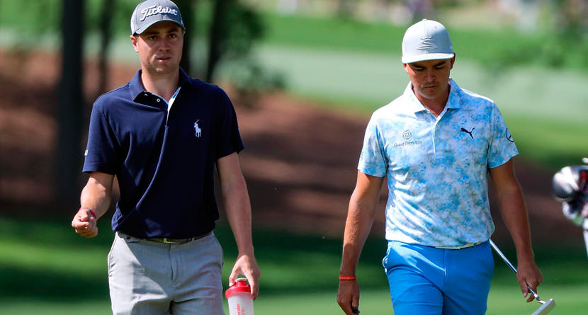 Justin Thomas Makes The Cut Using Rickie Fowler S Backup Putter Swingu Clubhouse