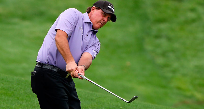 Phil Mickelson Pulls Off (And Explains) Incredible Creek Rock Recovery