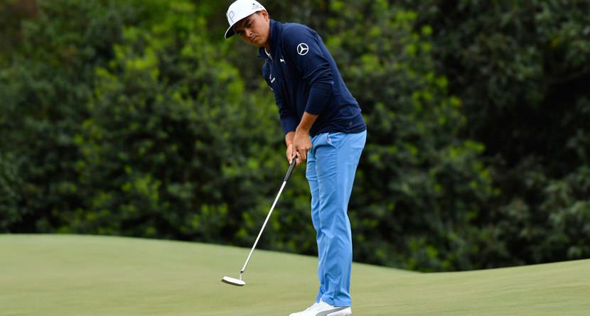 Rickie Fowler Four-Putts From Inside 20 Feet