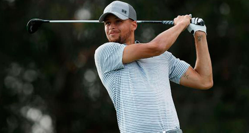 Stephen Curry Channeled His Inner Golfer To Win Game 7