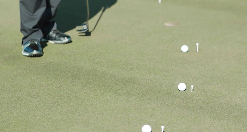 Become A Better Pressure Putter With The 5-Tee Drill
