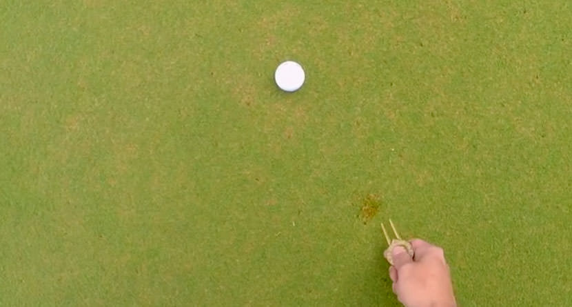 How To Properly Repair A Ball Mark