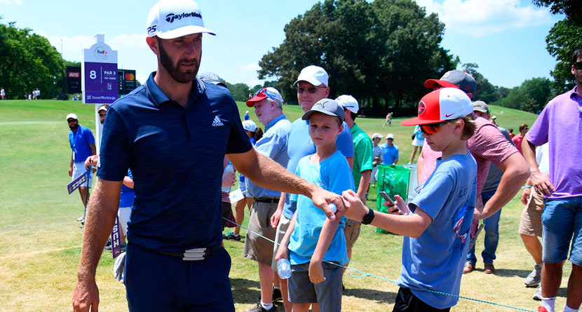 Dustin Johnson Wins The FedEx St. Jude Classic