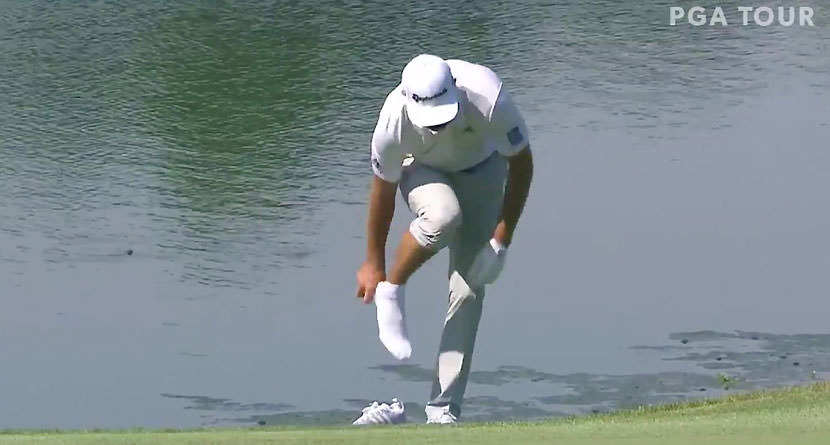 How'd He Hit That: DJ's Hole Out From The Hazard