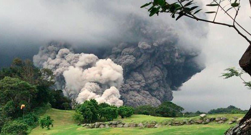 Volcanic Eruption Engulfs PGA Tour Latinoamerica Course