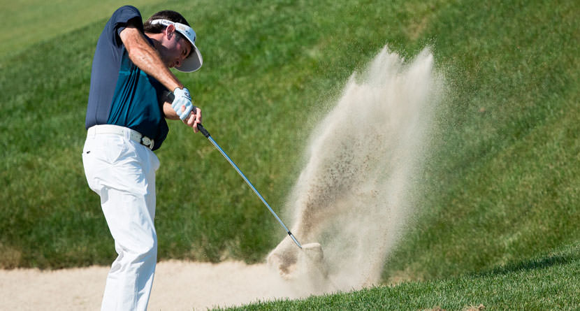 How'd He Hit That: Bubba's Short-Sided Bunker Shot