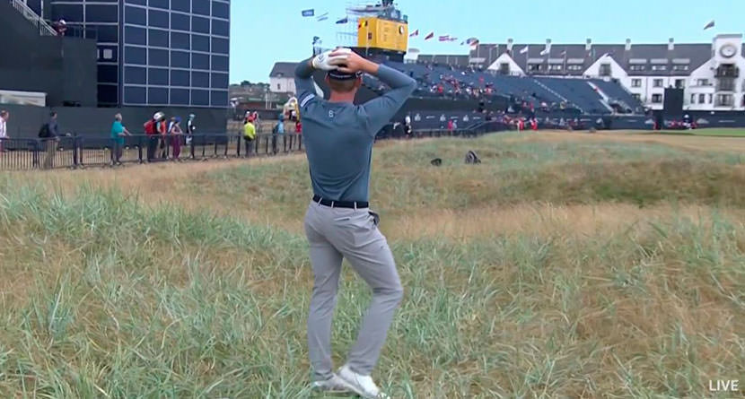 Stone Gets Incredibly Lucky Break At Open Championship