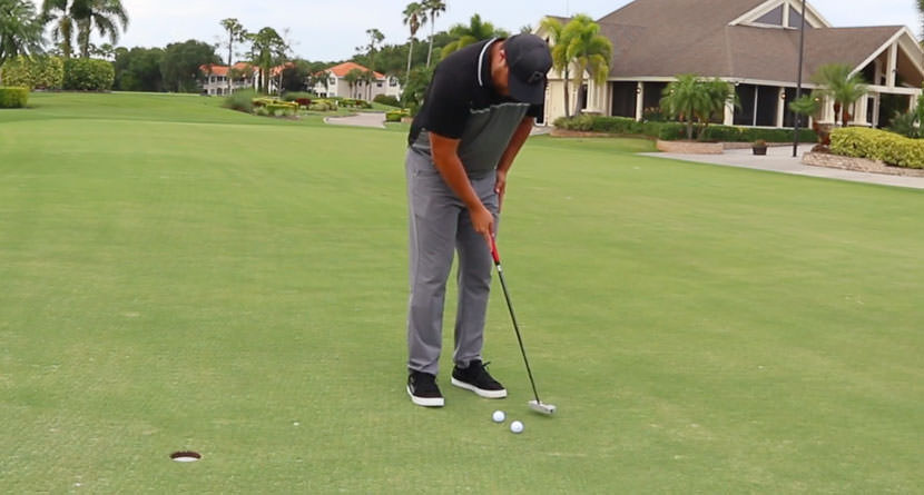 Use Tiger's Favorite Drill To Practice Putting