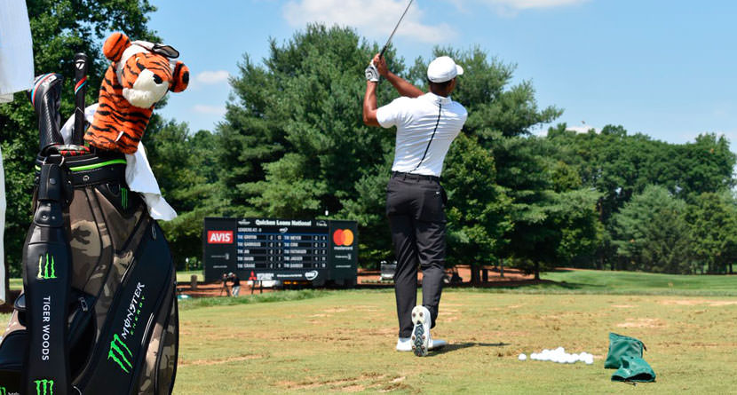 Tiger's Golf Bag Sells For Nearly $20,000