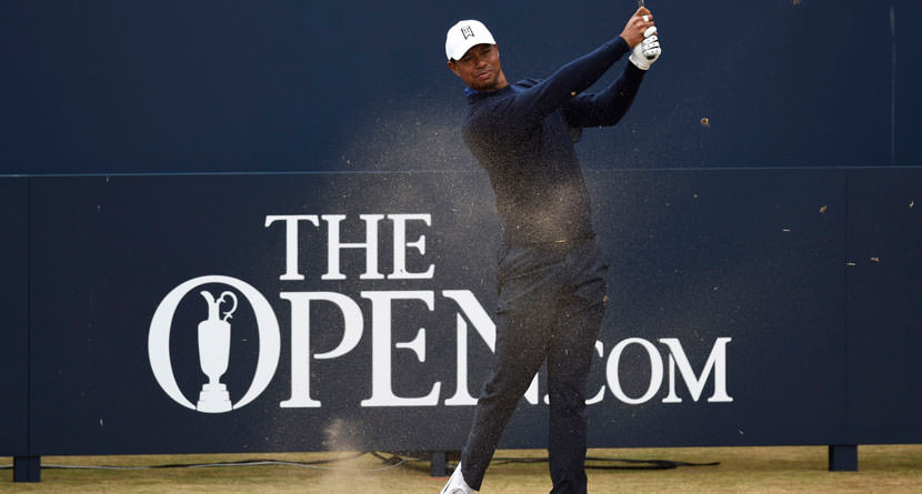 Tiger Admits The Open Is His Best Chance At A Major