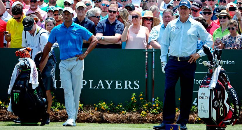 Tiger, Phil Planning $10 Million Match