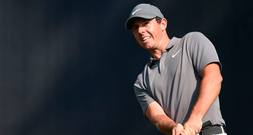 Rory Turns Bogey Into Birdie With Unlikely Chip-In