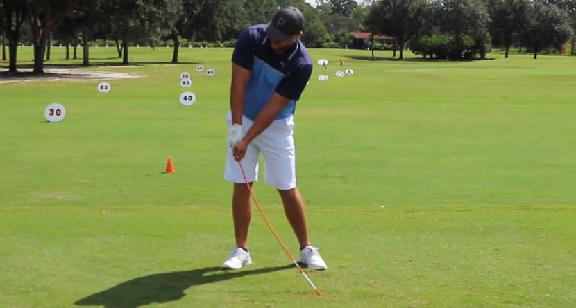 Improve Impact By Practicing With An Alignment Rod