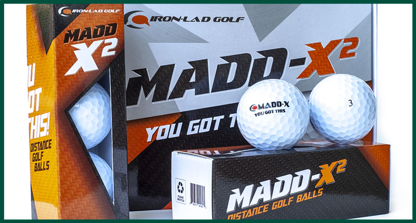 Product Review: Iron-Lad Madd-X Golf Balls