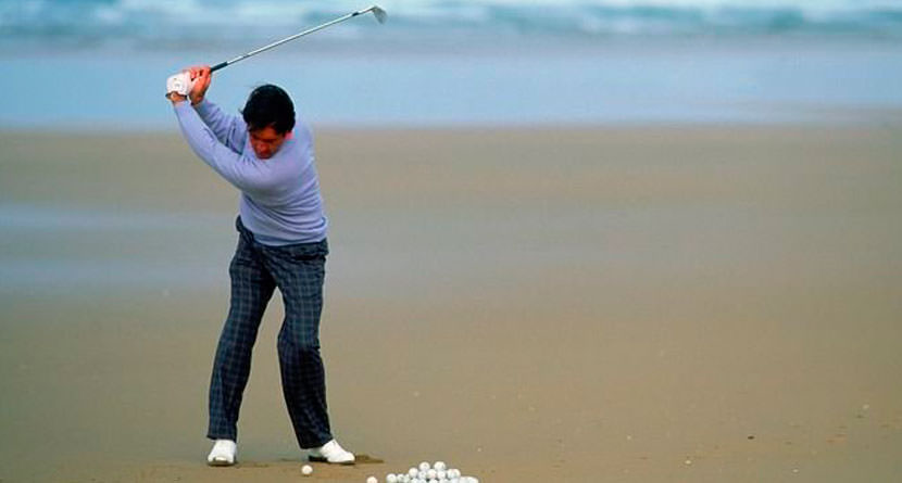 Seve Shares His Secrets From The Sand